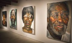 """Sedrick Huckaby's """"Everyday Glory"""" includes more than 250 works completed in the past year — extraordinary output in anyone's book. - through Jan. 11, 2014 at Valley House Gallery"""