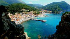 Just a Peek, Parga, Greece | Flickr #traveltoGreece #Hellas