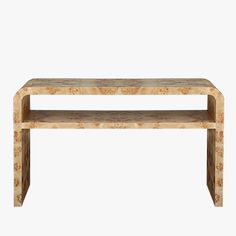 Manry Burlwood Console - Shop Burlwood Furniture - Dear Keaton
