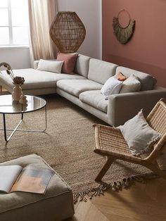 Beige Sofa Living Room, Condo Living Room, Home And Living, Living Room Decor, Beige Couch, Bedroom Wall Colors, Room Colors, Above Couch Decor, Living Room Color Schemes