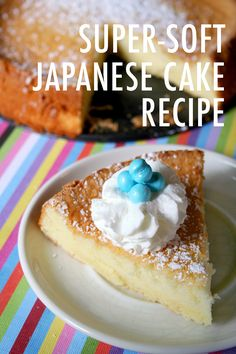 We're pretty sure this is the lightest, softest, richest cake you will ever bake. Get the Japanese cake recipe (and find out what makes it so special) here.