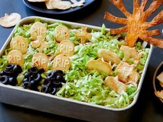 25 Best Halloween Appetizers | Halloween Party Ideas and Recipes : Food Network | Food Network Halloween Appetizers, Halloween Dinner, Halloween Fun, Halloween Foods, Halloween Birthday, Halloween Season, Couple Halloween, Halloween Treats, Halloween Decorations