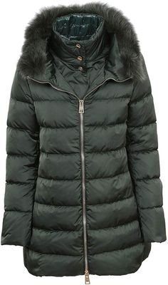 41e27ab95484c5d Buy Herno Herno Fur Trim Padded Jacket now at italist and save up to  EXPRESS international shipping!
