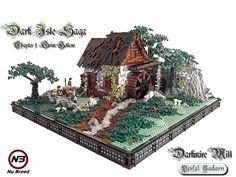 Amazing Lego House Models – How to build it Lego Structures, Amazing Lego Creations, Medieval Houses, Minecraft, All Lego, Lego Modular, Lego Castle, Fantasy Castle, Brick Design
