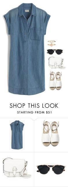 """Untitled #820"" by h1234l on Polyvore featuring J.Crew, MICHAEL Michael Kors, Christian Dior and Accessorize"