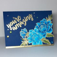 You're Amazing card