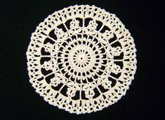 12 Flower Doily, chart only