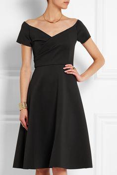 Saloni | Rachel neoprene dress | NET-A-PORTER.COM