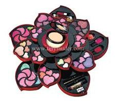 Buy high quality natural looking beauty products such as cheap cosmetics, Makeup kit with amazing discounts from East End Cosmetics Little Girl Makeup Kit, Makeup Kit For Kids, Girls Makeup, Bts Makeup, Makeup Box, Beauty Makeup, Unique Makeup, Cheap Makeup, Justice Makeup