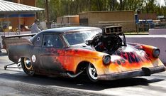 blown Hemi powered '53 Studebaker Pro Mod