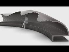 Rhino Tutorial, Grasshopper Rhino, Parking Design, Bench, Chairs, Waves, Garden, Youtube, Industrial Design