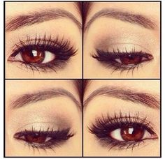 10 Natural Makeup Look Ideas This eye make-up.is gorgeous !This eye make-up.is gorgeous !