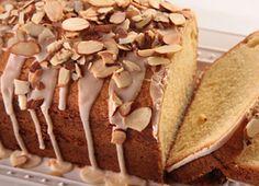 Amaretto Almond Pound Cake.