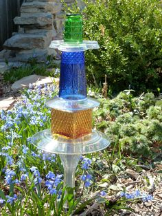 Garden Art Totem by NorahsGate on Etsy, $39.00