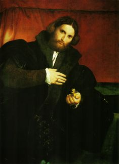 Portrait of a Gentleman with a Lion Paw