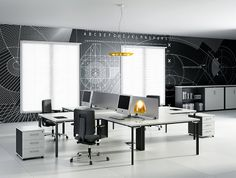 Simple Modern Office Furniture, Module Series by JG Group
