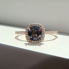 50 Exclusive Engagement Rings We Found on Etsy. I don't even like big rings nor do I know how that shape/cut looks on my hand but its pretty!