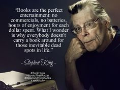 A great Quote by Stephen King