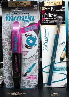 Spotted: NEW L'Oreal Spring 2015 Limited Edition Miss Manga Color Pop Mascaras