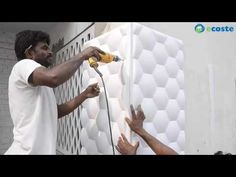 Ecoste CLAD-EX 3D Wall Panels Installation. - YouTube