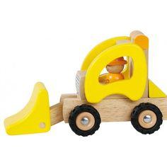 Hjullastare i Trä - Goki - Paddington's Leksaker