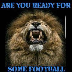 Game Day Baby! 💙🦁🏈 #detroit #michigan #detroitlions #detroitvseverybody #fordfield #onepride #defendtheden #lionsnation #girlswholovefootball #gameday #areyoureadyforsomefootball #gameface #nfl
