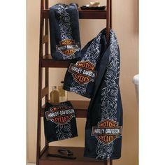 Harley-davidson Towel Set 3pc by Harley-Davidson Motor Company., http://www.amazon.com/dp/B004GFSQXI/ref=cm_sw_r_pi_dp_OvsTpb0015069