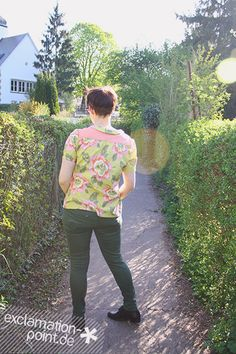 """Springtime Mimi blouse from the sewing book """"Love at first stitch"""" by Tilly Walnes / Tilly and the Buttons. 