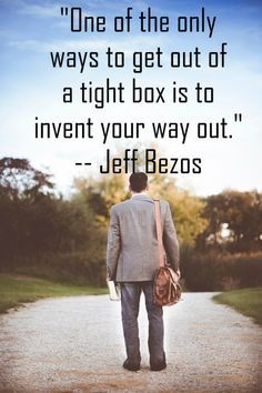 Jeff Bezos, who is currently the richest man on the planet, has said many things that inspires and motivates the youth. So here is an inspiring and motivating  quote said by this great man.