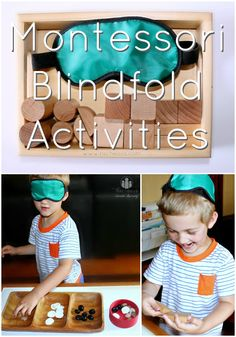 Montessori Blindfold Activities