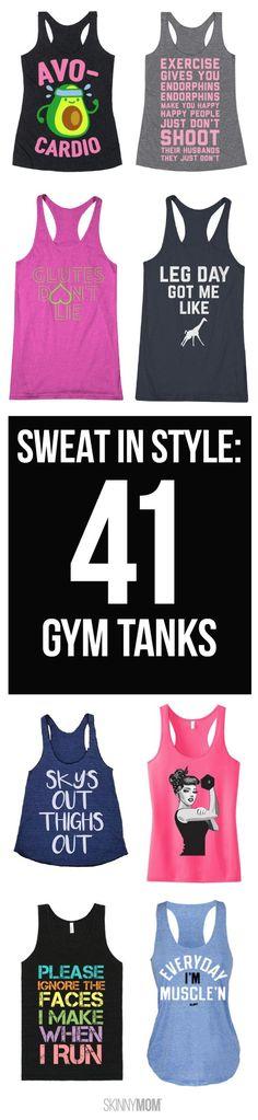 Cute workout tanks!
