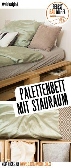 Bett Franz selber bauen - Betten WG-Ideen Pinterest