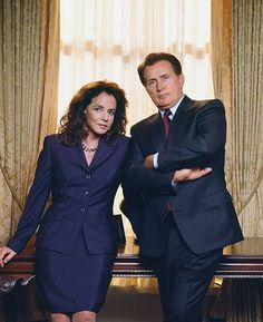 Stockard Channing as Abbey Bartlet Martin Sheen as President Josiah 'Jed' Bartlet Photo by James Sorensen/NBCU Photo Bank