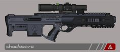 When it comes to urban night combat, there simply isn't an equivalent to the Aardwolf DMR. Chambered in subsonic 7.62x51mm NATO, this silent-as-the-night bullpup DMR features a really smooth and er...