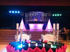 A shot of my DJ rig set-up from the wedding reception I MC'd this weekend!