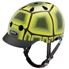 cuz i'm slow....Nutcase Little Nutty Bike Street Helmet - Turtle - LNG3-1094 (Turtle - XS)