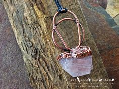 Just added this beautiful chunky rose quartz pendant to our store.   The rustic antique copper and the raw quartz crystal really go well together.   Store link in our bio. #leafseedpodshell #leafseedpodshelljewelry #birdhouse #leaves #leaf #acorn #acorns #seeds #pods #shells #copper #electroform #electroforming #electroformed #electroplated #electroplating #nature #natural #rustic #plating #jewelry #jewellery #pendant #pendants #handmade #handmadejewelry