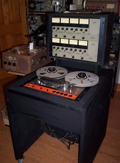 """Tascam Series 70H8 The world's first 1/2"""" 8 track reel to reel tape recorder"""