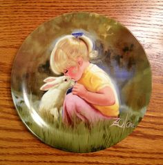 Tender Moment Porcelain Collector Plate