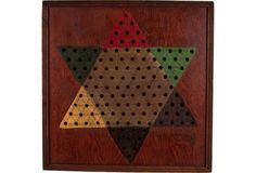 1940s Chinese Checkers Board