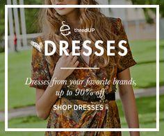 Shop Women's dresses on thredUP.com. Up to 90% off your favorite brands.
