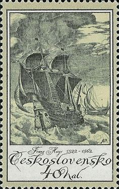 Old engravings of ships