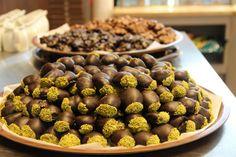 Kestane ile çikolatanın leziz birlikteliği…Çikolata Kaplı Kestaneler.