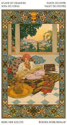 Галерея Tarot of the Thousand and One Nights – 80 фотографий