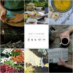 art of home e-course launching September 15th. All things about creating an artisan home