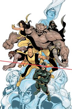 Young X-Men by Terry Dodson