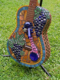 Guitar Lost in a Vineyard. | Flickr - Photo Sharing!