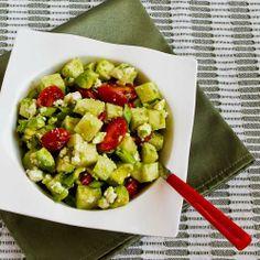 Cross-Cultural Salad Recipe with Tomato, Avocado, Jicama, Lime, and Feta