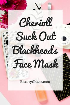 Cherioll Peel Off Charcoal Face Mask for large pores and blackheads | BeautyChaos.com