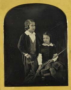 The Prince of Wales and Prince Alfred